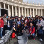 Da Avezzano al Papa a San Pietro per una toccante testimonianza di fede