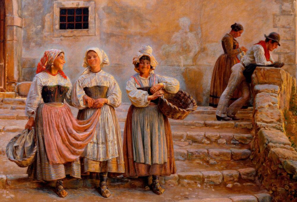 Gli abiti folkloristici nella tradizione marsicana e abruzzese, ecco come vestivano i nonni dei nostri nonni