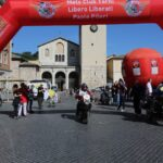 Grande accoglienza ad Avezzano per la gran fondo delle moto d'epoca