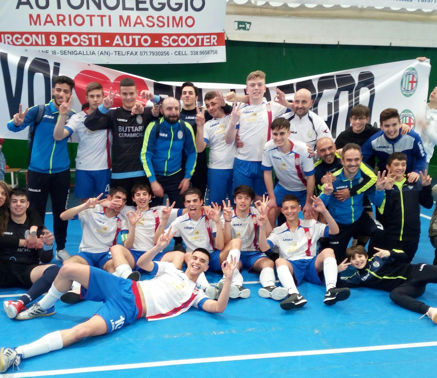 Calcio a 5 Under 17, è finale scudetto per l'Orione Avezzano