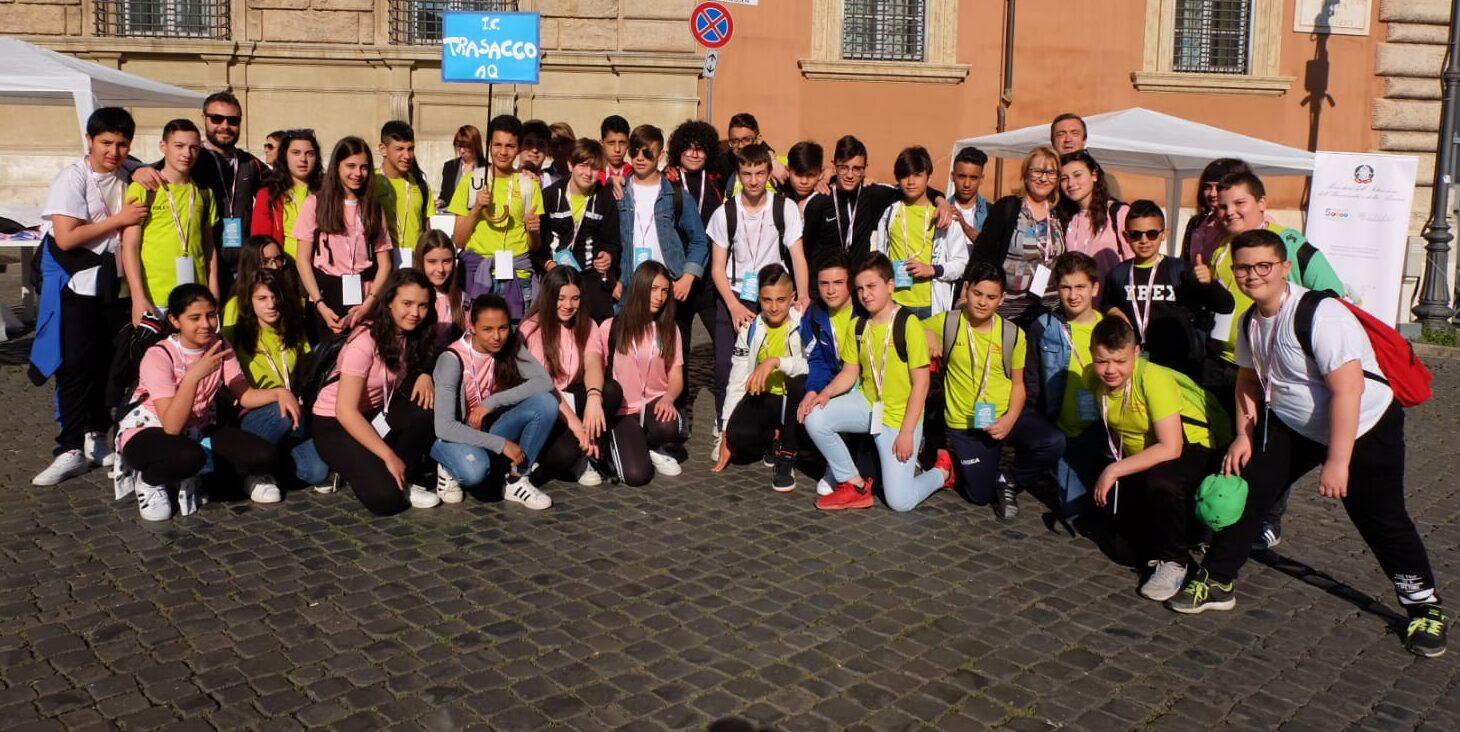 I ragazzi della scuola secondaria di Trasacco incontrano Papa Francesco