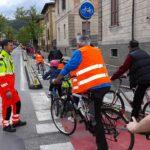 Biciclettata in centro, il successo della manifestazione della Collodi Marini