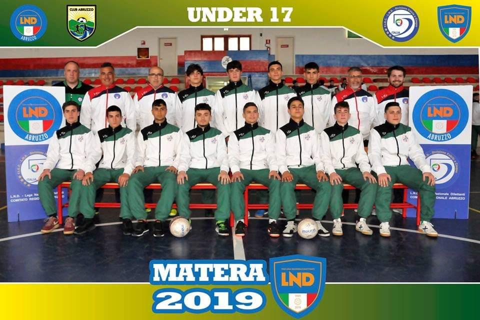 Torneo Delle regioni 2019 C5: Abruzzo in finale, decisivo il gol di un avezzanese