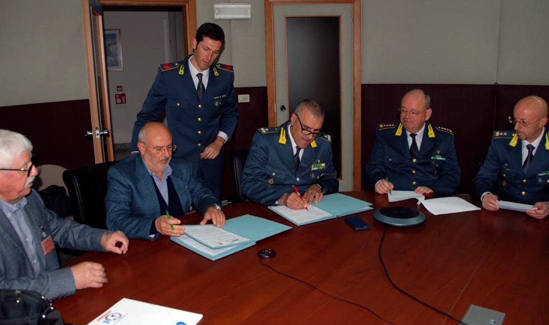 Guardia di Finanza, firmata intesa con l'AVIS per la raccolta e donazione di sangue