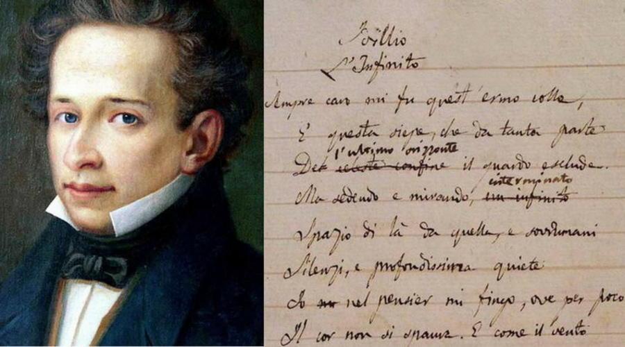 """Oggi """"L'Infinito"""" di Giacomo Leopardi unisce studenti e cittadini di tutta Italia a 200 anni dalla sua stesura"""