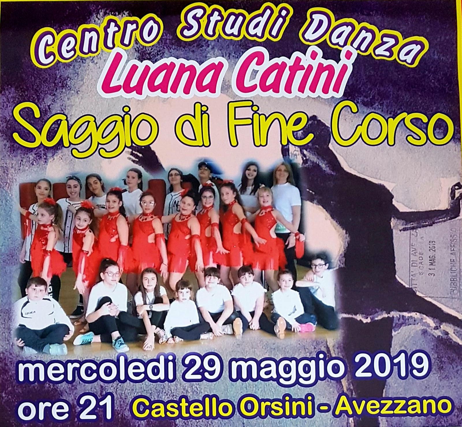 Danza, saggio di fine corso al castello Orsini
