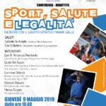 Ad Avezzano incontro con il gruppo sportivo fiamme gialle per parlare di sport, salute e legalità