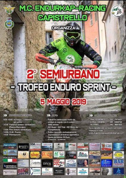 Al via a Capistrello la seconda edizione dell'Enduro Semiurbano