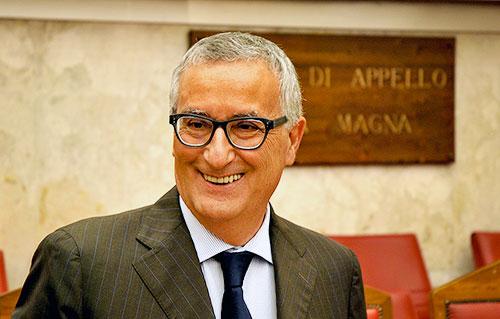Domenica a Celano l'ex Procuratore Nazionale Antimafia Roberti, candidato al Parlamento Europeo