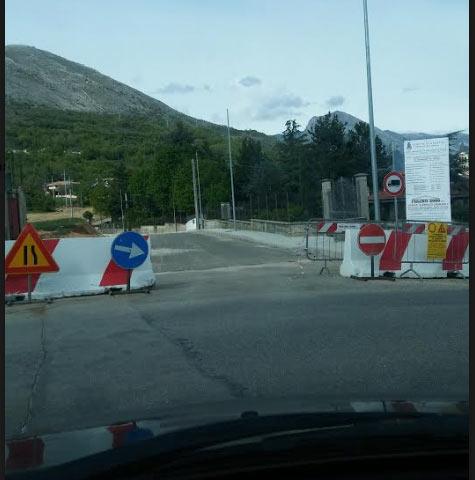 San Pelino, lavori in via G. Verga in forte ritardo, proseguono i disagi degli automobilisti