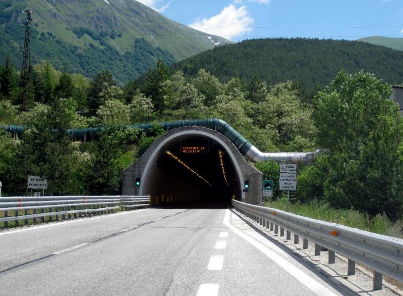 Provincia dell'Aquila contraria alla chiusura del traforo del Gran Sasso