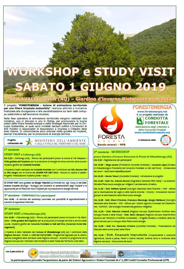 Villavallelonga, workshop e visita guidata all'impianto per la produzione di energia termica a servizio della scuola