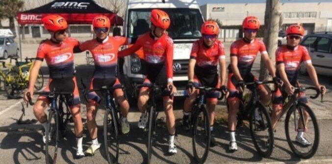 Il marsicano Pietro Di Genova al via dei campionati italiani di ciclismo su strada under 23