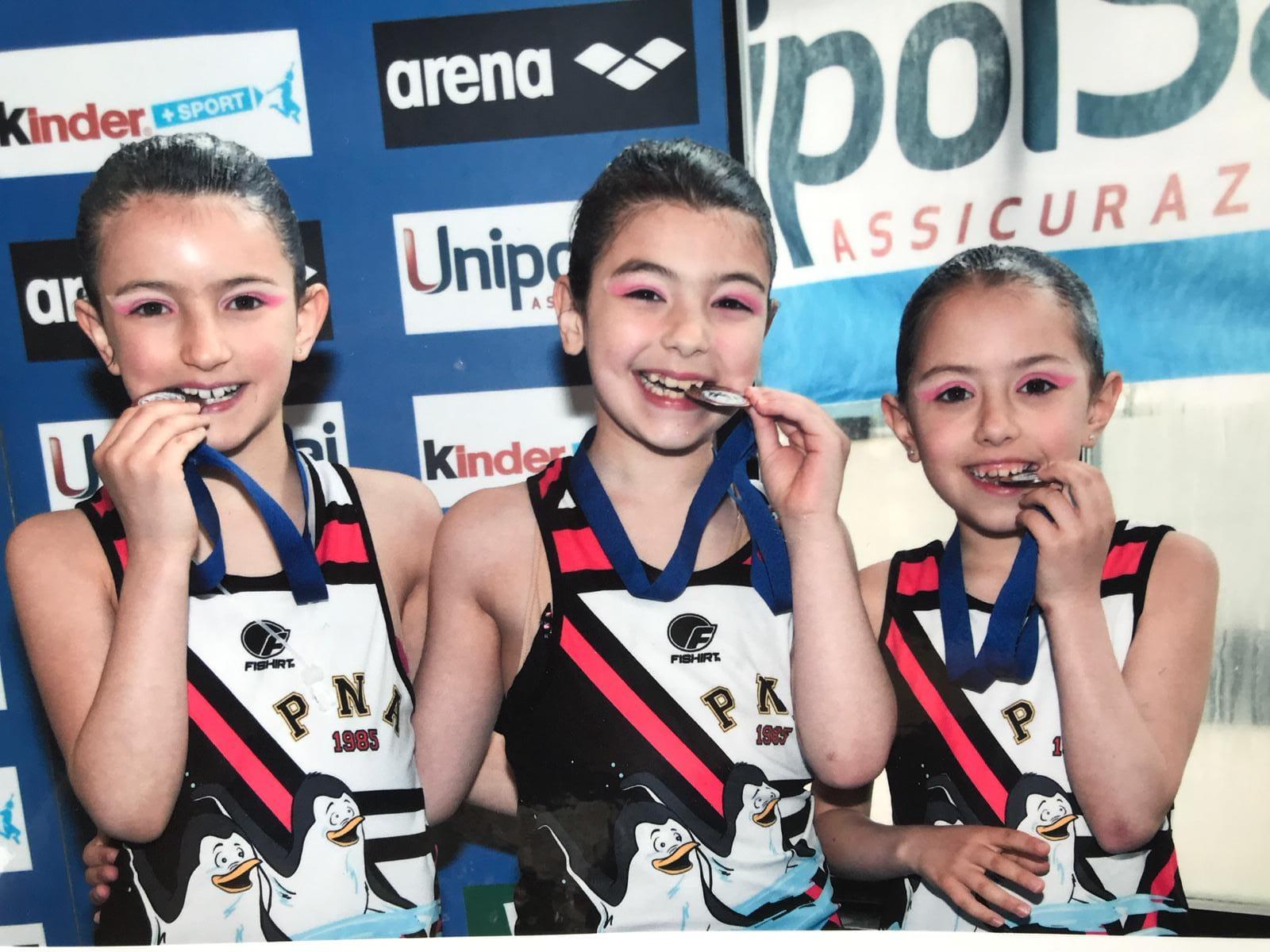 Medaglia di bronzo per le esordienti della Pinguino Nuto ai campionati italiani a Genova