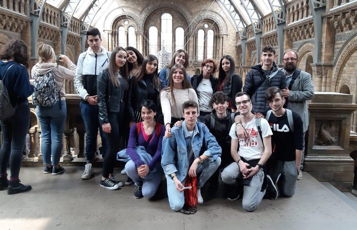 Unica ed irripetibile esperienza a Londra per gli studenti del Galilei di Avezzano