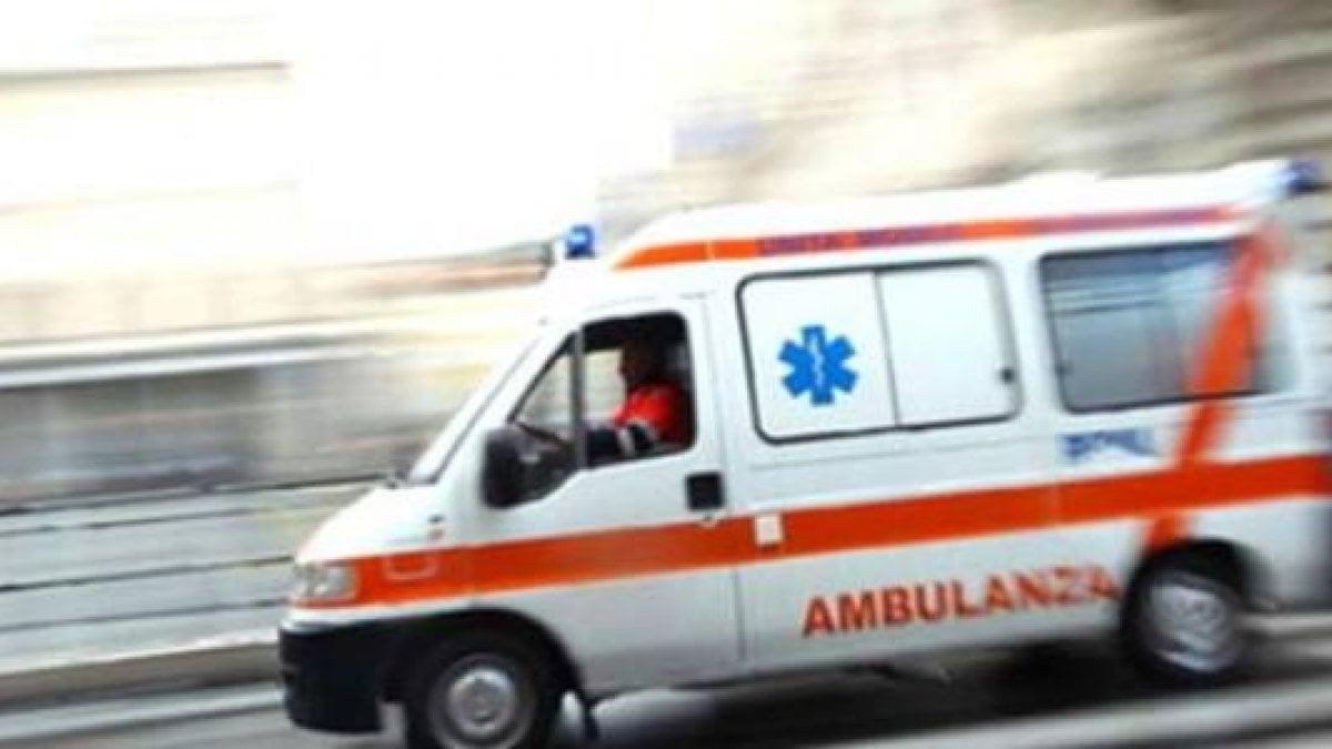 Investito bambino di 12 anni, trasportato in codice rosso al pronto soccorso