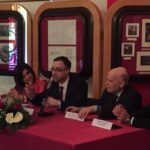 "Lo studioso francese Oliver Poncet ieri al convegno ""Mazarin l'italien"" a Pescina"