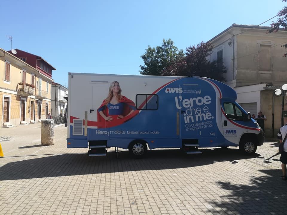 Questa mattina a San Benedetto dei Marsi raccolta sangue insieme agli amici e volontari dell'Avis