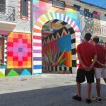 Aielli si arricchisce con le opere dell'artista Okuda San Miguel