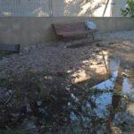 Atti vandalici nei giardini pubblici di Carsoli