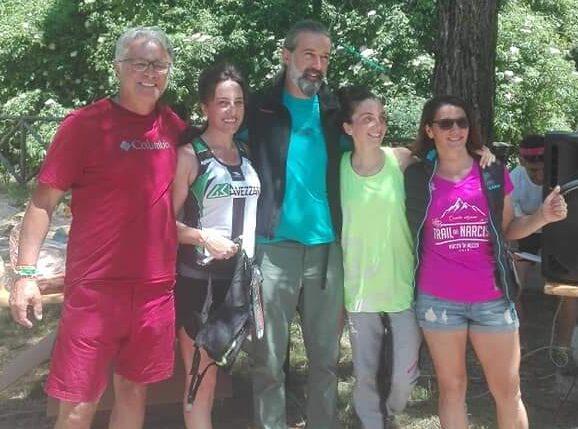 Atlete marsicane in evidenza al Trail Riserva Naturale Grotte di Pietrasecca