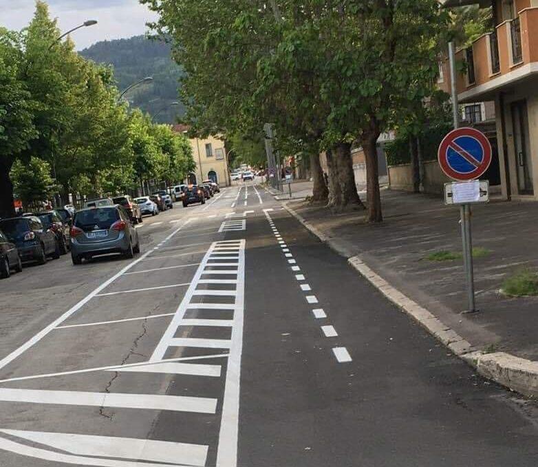 """Pista ciclabile Avezzano, meno """"carreggiata"""" ma più parcheggi e più sicurezza"""