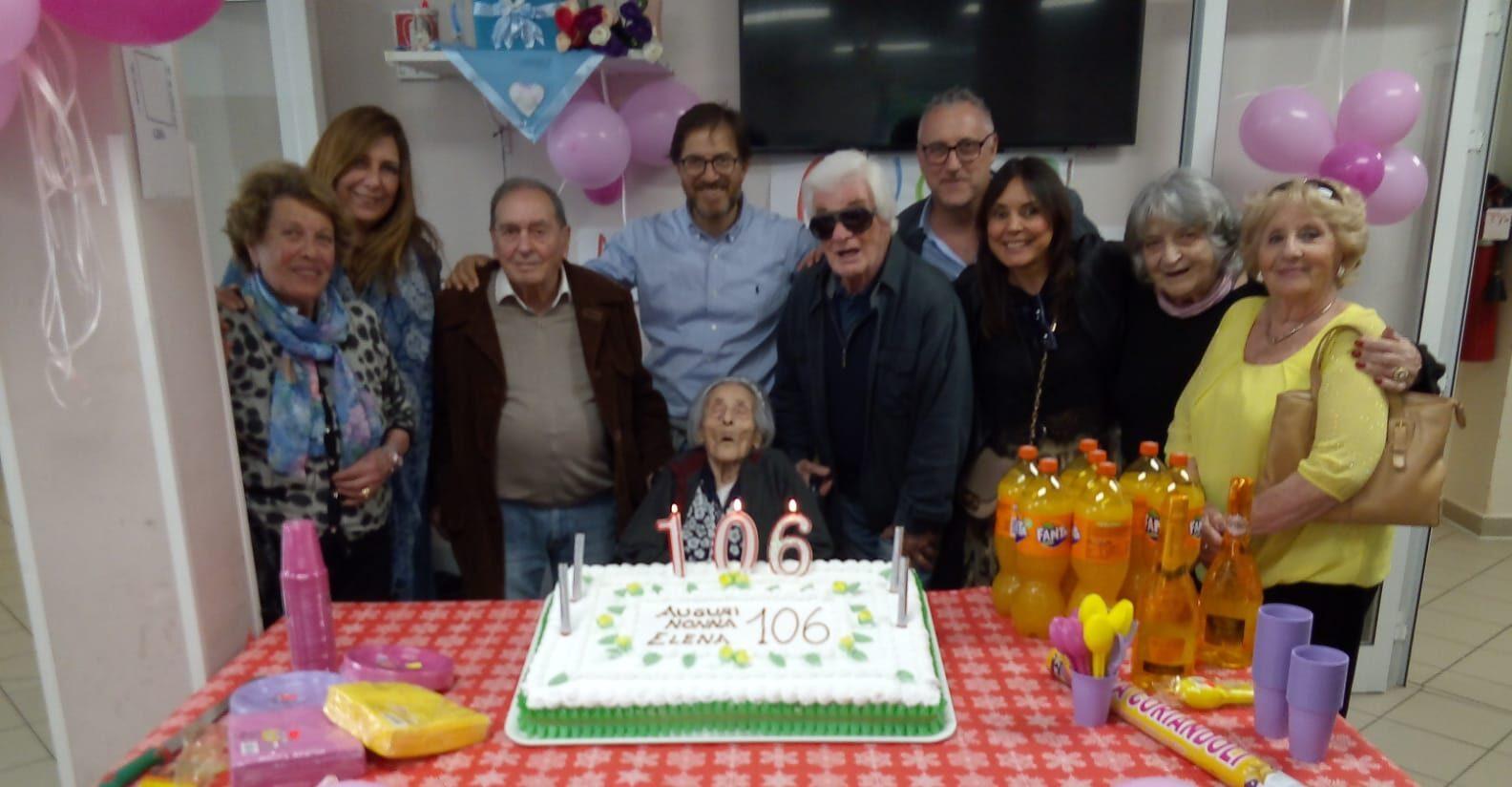 Oggi compie ben 106 anni la nonnina marsicana Elena Iacobucci