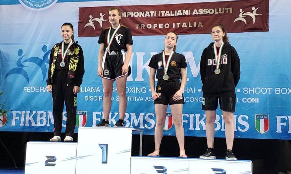 L'atleta cadetta Alice Venditti convocata ai campionati Wako European Kick Boxing Championship
