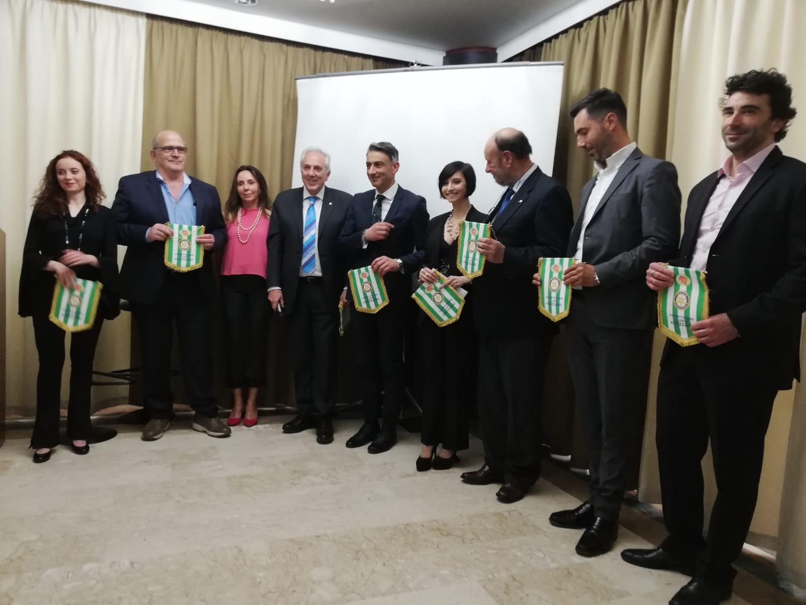 Rotary e sei imprenditori a sostegno del cortometraggio sul terremoto di Avezzano con Lino Guanciale