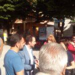 Scongiurato anche per oggi il taglio degli alberi in Piazza Mercato, Fedele ed Eligi ottengono un incontro con il commissario prefettizio