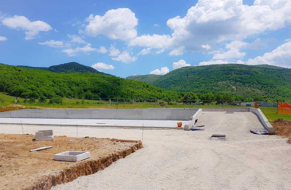 Pescina, continuano i lavori per il Centro di raccolta. Entrerà in esercizio a luglio