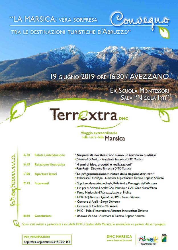 """Convegno """"La Marsica vera sorpresa: tra le destinazioni turistiche d'Abruzzo"""" se ne parla ad Avezzano"""
