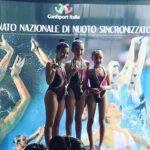 Nuoto Sincronizzato, Campionato Nazionale Fermo 2019, primo posto per la Pinguino Nuoto
