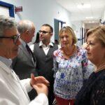 L'assessore regionale Verìvisita l'ospedale di Avezzano insieme al consigliere Angelosante