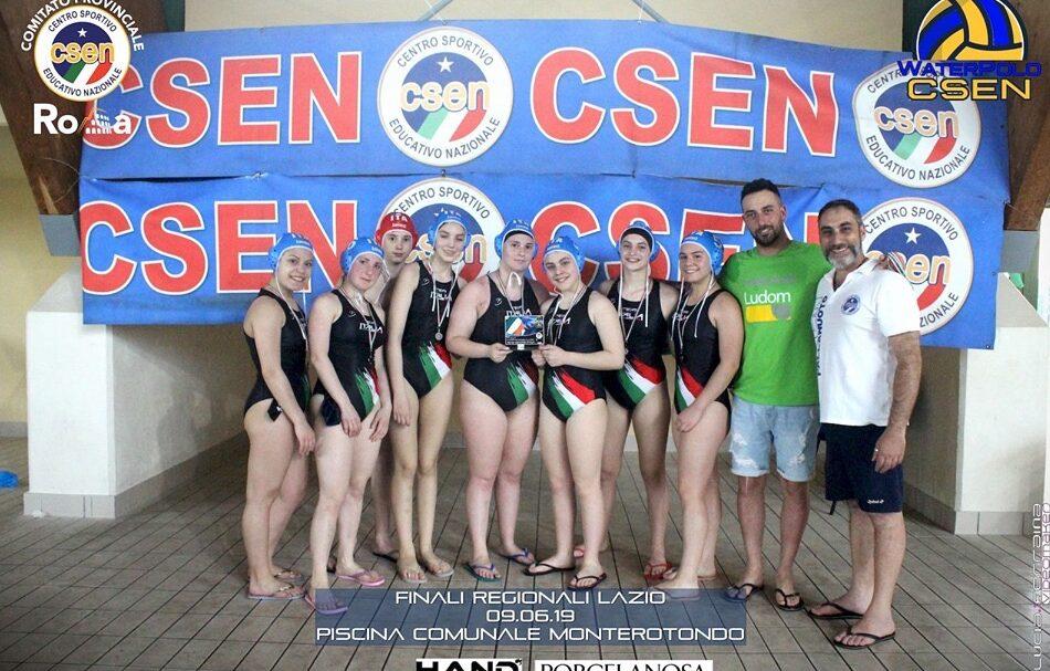 Pallanuoto, ottimo risultato per le atlete Del Team Centro Italia