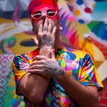 Il famoso artista internazionale Okuda San Miguel ad Aielli