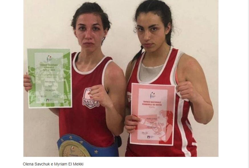 Pugilato femminile: convocazione in nazionale ed invito al torneo guanto d'oro per la A.S.D. Sauli Boxe