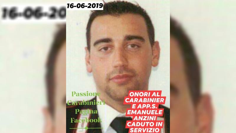Carabiniere ucciso, domani avrebbe compiuto 42 anni, prestò servizio anche nella caserma di Tagliacozzo
