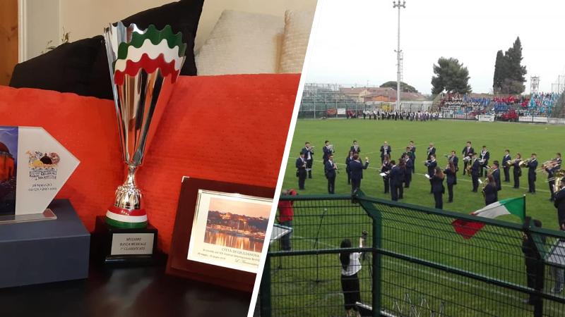 I Leoncini d'Abruzzo premiati al Festival Internazionale Bande Musicali e Majorettes