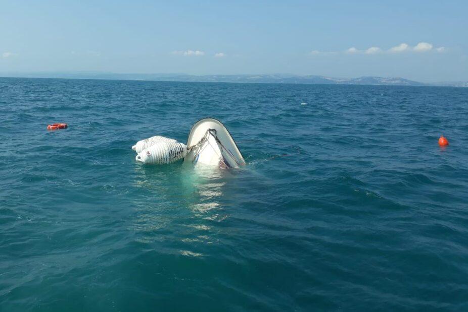 Maltempo, Uecoop barche affondate nel porto di Pescara