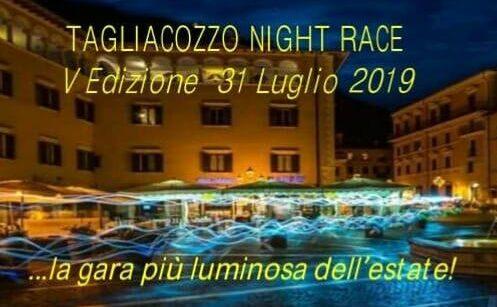 5^ Night Race di Tagliacozzo, la gara più luminosa dell'estate