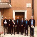 Tagliacozzo, una strada intitolata all' Avv. Vincenzo Marini, personalità viva nel ricordo dei concittadini per la generosità e la simpatia