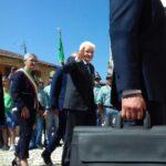 La visita del Presidente Mattarella a Scurcola Marsicana. VIDEO