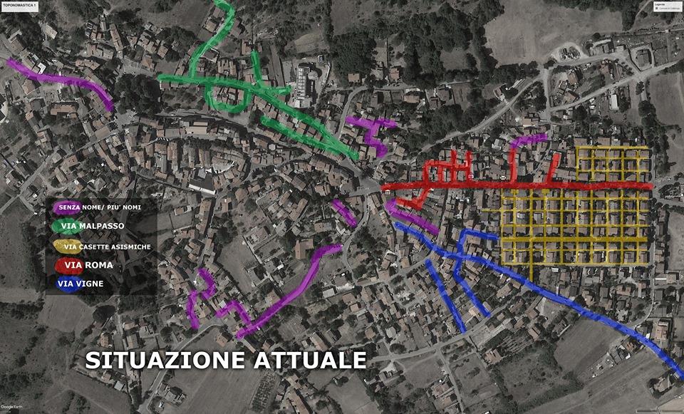 Al via il riassetto toponomastico di tutte le vie e le stradine di Collelongo