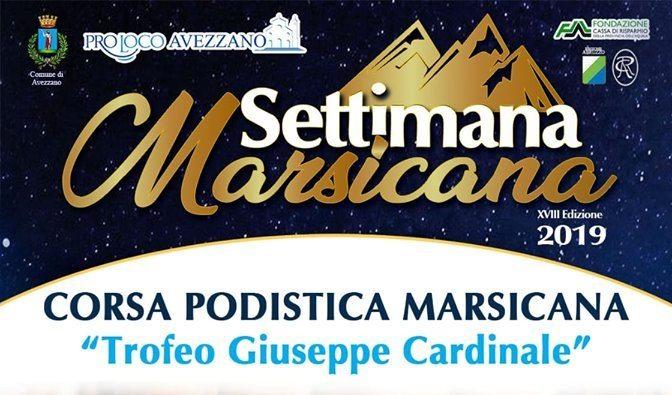 """Grande attesa per la Corsa Podistica Marsicana """"Trofeo Giuseppe Cardinale"""""""
