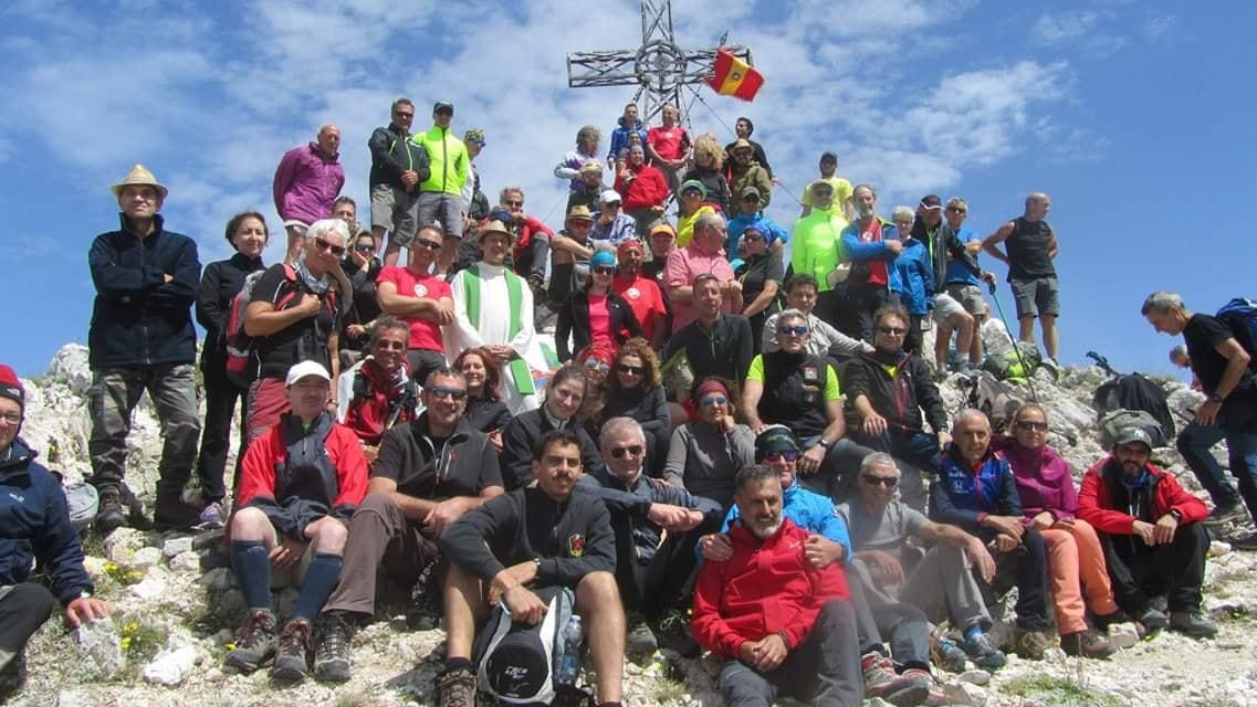 Escursione in quota per la festa del Monte Velino