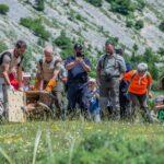 Il grifone Kvarner riprende il volo dopo la riabilitazione nella Riserva Monte Velino
