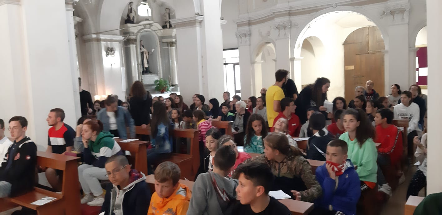 I Giovanissimi di Azione Cattolica della Diocesi di Avezzano si incontrano a Castellafiume