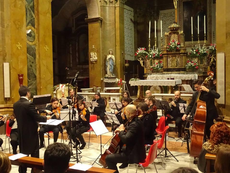 L'Orchestra da Camera della Marsica in concerto al Castello di Avezzano