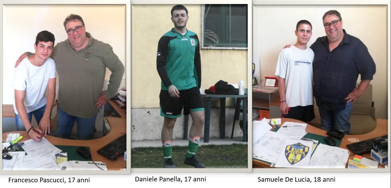 L'ASD Pucetta, tre fuoriquota alla corte di Mister Giannini